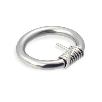 Wire ring, 8 ga