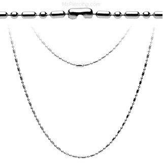 "20"" Steel Chain Necklace"