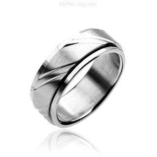 316L Stainless Steel Ring Spinning Ring