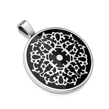 316L Stainless Steel Pendant.