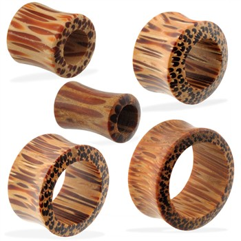 Pair Of Organic Coconut Wood Tunnels
