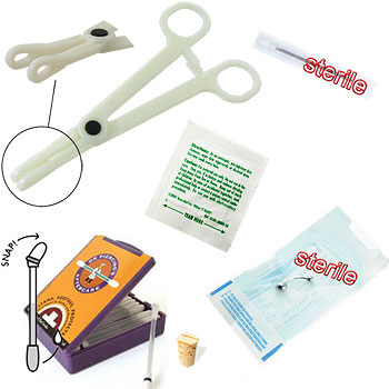 6-Piece Belly Button Piercing Starter Kit