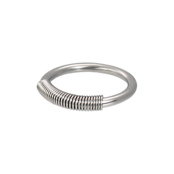 Spring Wire Captive Ring, 14 Ga
