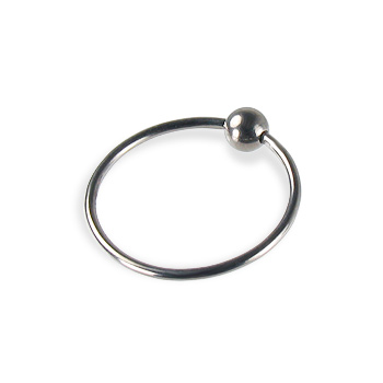 Titanium captive bead ring, 20 ga