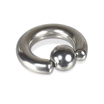 2 gauge captive bead ring