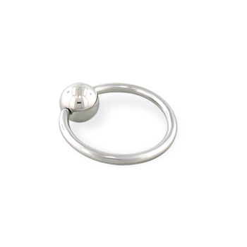 Captive bead ring, 18 ga