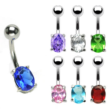 Big Gem Belly Button Ring