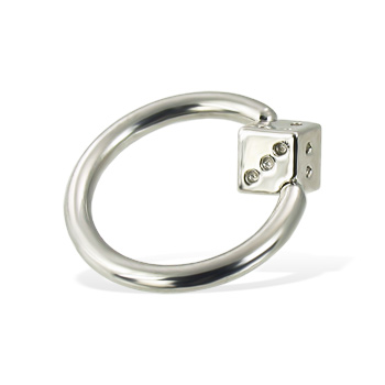 Die captive bead ring, 12 ga