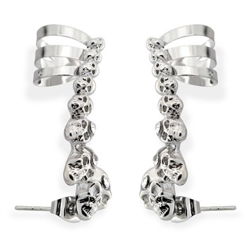 Set of Skull Ear Cuff's