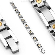 316L Stainless Steel Bracelet/Gold Tone
