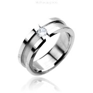 316L Stainless Steel Ring.