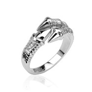 316L Stainless Steel Claw Ring