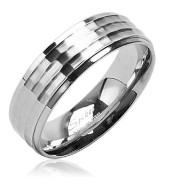 316L Surgical Stainless Steel Rings/Faceted