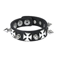 Wristband Leather W/ Spike