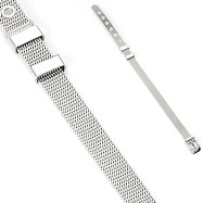 316L Stainless Steel Bracelet In Belt Design