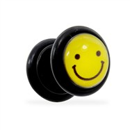 Fake Plug with Smiley Logo, 16 Ga