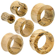 Pair Of Organic Tamarind Wood Saddle Tunnels