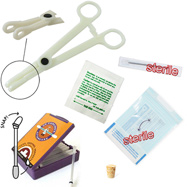 6-Piece Eyebrow Piercing Starter Kit, 16 Or 18 Gauge