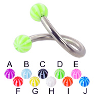 Beach ball twister, 12 ga