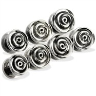 Pair of Steel Screw-Fit Rose Tunnels