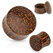 Pair Of Stash Organic Coconut Wood Plugs
